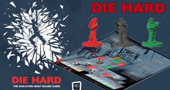 Jogo de Tabuleiro Duro de Matar (Die Hard): Grande Roubo no Nakatomi Plaza