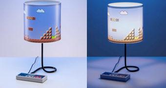 Abajur Nintendo Gamepad NES