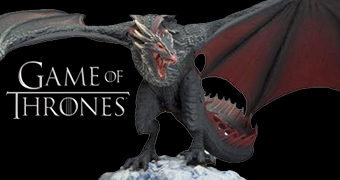 Action Figure Dragão Drogon de Daenerys Targaryen – McFarlane Toys Game of Thrones