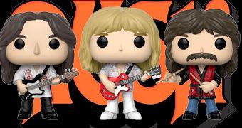 Bonecos Pop! Rocks da Banda Rush