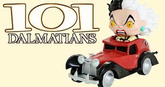 101 Dálmatas Pop! Rides: Cruella de Vil em sua Limusine