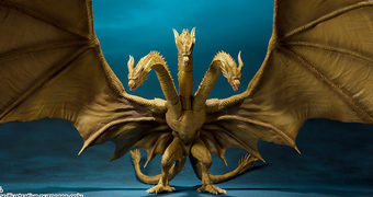 King Ghidorah S.H.MonsterArts – Godzilla II: Rei dos Monstros