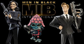 Figuras Estilizadas Weta Mini Epics de Men in Black: International (MIB: Homens de Preto)