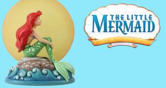 Estátua Disney Traditions: A Pequena Sereia e a Lua
