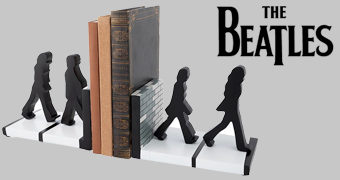 Apoios de Livros The Beatles Abbey Road Bookends