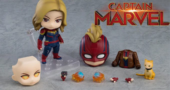 Boneca Nendoroid Capitã Marvel
