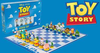 Xadrez Toy Story: Time Woody versus Time Buzz