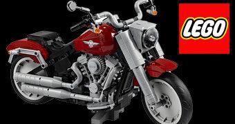 Moto Harley-Davidson Fat Boy LEGO Creator com 1.023 peças