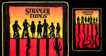 Cobertor de Lance Stranger Things