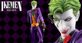 Estátua Joker (Coringa) Estilo Ikemen (Homem Bonito) – Ilustração da Artista Japonesa Ricken