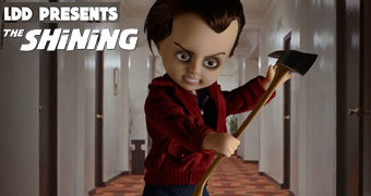 Living Dead Dolls Apresenta: Jack Torrance de O Iluminado
