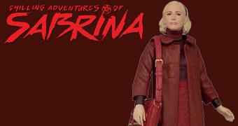 Estátua da Série Chilling Adventures of Sabrina