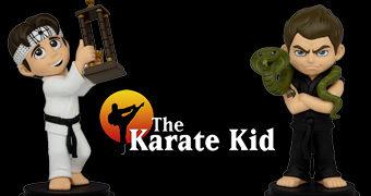 Bonecos Karatê Kid Icon Vinyl: Daniel Larusso e John Kreese