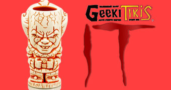 Caneca Tiki Mug IT Pennywise Geeki Tikis