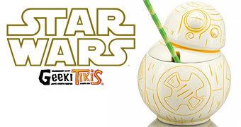 Caneca Tiki Mug BB-8 Star Wars Geeki Tikis