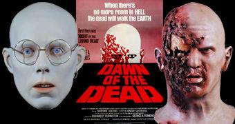 Máscaras Despertar dos Mortos (Dawn of the Dead) de George Romero: Zumbi do Aeroporto e Zumbi Hare Krishna