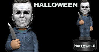 Boneco Michael Myers Body Knocker Halloween 2018 com Energia Solar