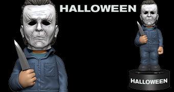Boneco Michael Myers Body Knocker Halloween 2018 com Energia Solar