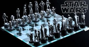 Xadrez Star Wars da Royal Selangor por 1.800 Dólares!
