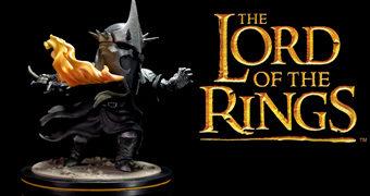 Rei Bruxo de Angmar Q-Fig (O Senhor dos Anéis) – Figura Diorama no Estilo Chibi