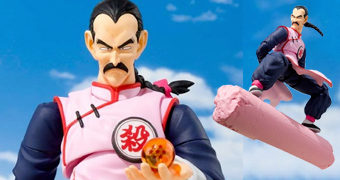 "Tao Pai Pai S.H. Figuarts Dragon Ball – Action Figure ""State of the Art"" da Bandai Tamashii"