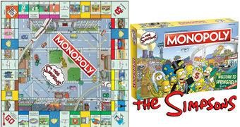 Monopoly Os Simpsons em Comemoração dos 30 Anos da Série Animada de Matt Groening