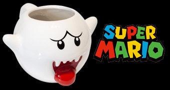 Caneca Fantasma Boo Super Mario (Nintendo)
