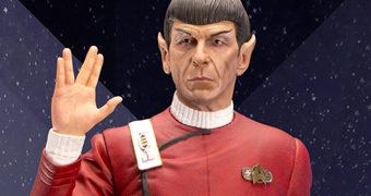 Leonard Nimoy como Capitão Spock em A Ira de Khan – Estátua Darkside Museum 1:3 por 1.500 Dólares