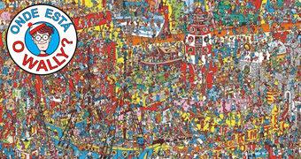 Quebra-Cabeça Gigante Onde está Wally? Com 3.000 Peças