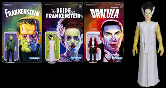 Universal Monsters ReAction Série 2 – Action Figures dos Monstros Clássicos do Universal Studios