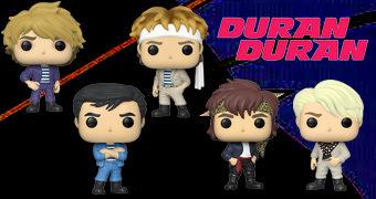 Bonecos Pop! Rocks Duran Duran