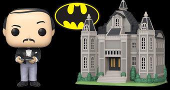 Pop! Town Batman 80 Anos: Alfred Pennyworth e a Mansão Wayne