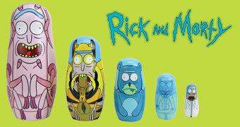 Bonecas Matryoshkas Rick and Morty: Ricks Multidimensionais