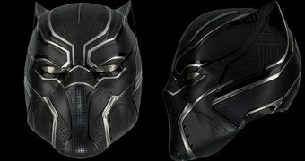Capacete Pantera Negra (Capitão América: Guerra Civil) – Réplica Perfeita 1:1 eFX Collectibles