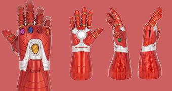 Cofre Manopla do Iron Man com as Joias do Infinito