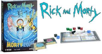 Jogo de Dados Rick and Morty Cristais da Morte (4º Temporada)