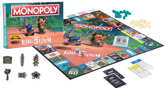 Jogo Monopoly Lilo & Stitch