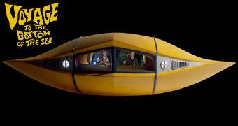 Réplica de Luxo do Mini-Submarino Voador FS-1 Flying Sub da Série Viagem ao Fundo do Mar por 1.250 Dólares