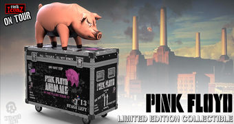 Pink Floyd (The Pig) Rock Iconz On Tour – Colecionável KnuckleBonz