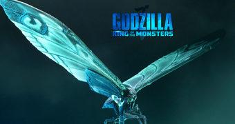 Mothra (Versão do Pôster) Action Figure Neca de Godzilla II: Rei dos Monstros
