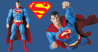 Superman (Hush Ver.) MAFEX – Action Figure Medicom 1:12 da Série em Quadrinhos Batman: Hush (Silêncio)