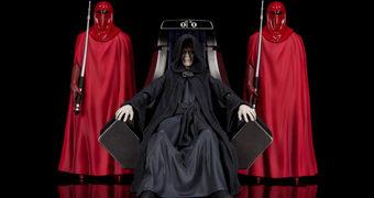 Imperador Palpatine e a Guarda Imperial na Sala do Trono da Estrela da Morte II – Action Figures S.H. Figuarts Star Wars