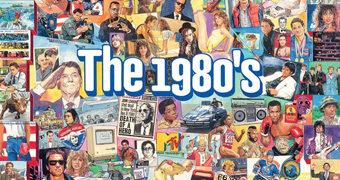 Os Anos 80 (The Eighties) – Quebra-Cabeça de 1.000 Peças