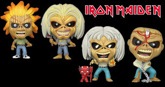 Bonecos Pop! Rocks Iron Maiden Eddie