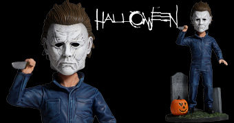 Boneco Michael Myers Head Knocker Halloween 2018