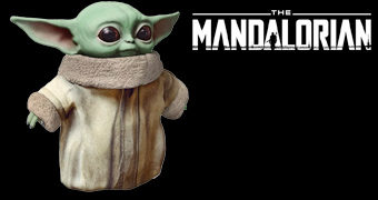 "Boneco de Pelúcia Baby Yoda ""The Child"" com 28 cm de Altura (The Mandalorian)"