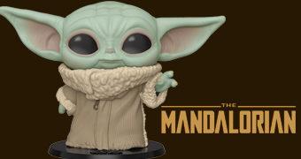 """Baby Yoda ou """"The Child"""" Bonecos Pop! Star Wars em Tamanhos Diferentes (The Mandalorian)"""