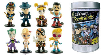 Mini-Figuras DC Lil' Bombshells da Cryptozoic Entertainment (Blind-Box)