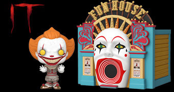 Bonecos Pop! IT Capítulo Dois e Funhouse Pop! Town