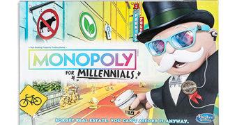 Jogo Monopoly para a Geração Millennials